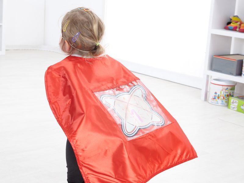 Helden-Cape, rot