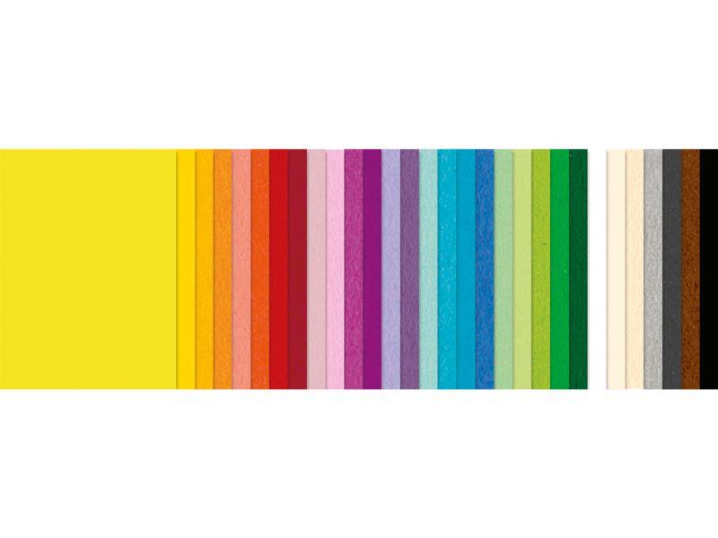 URSUS Kombi-Pack Fotokarton & Tonpapier, 23 x 33 cm, 60 Blatt