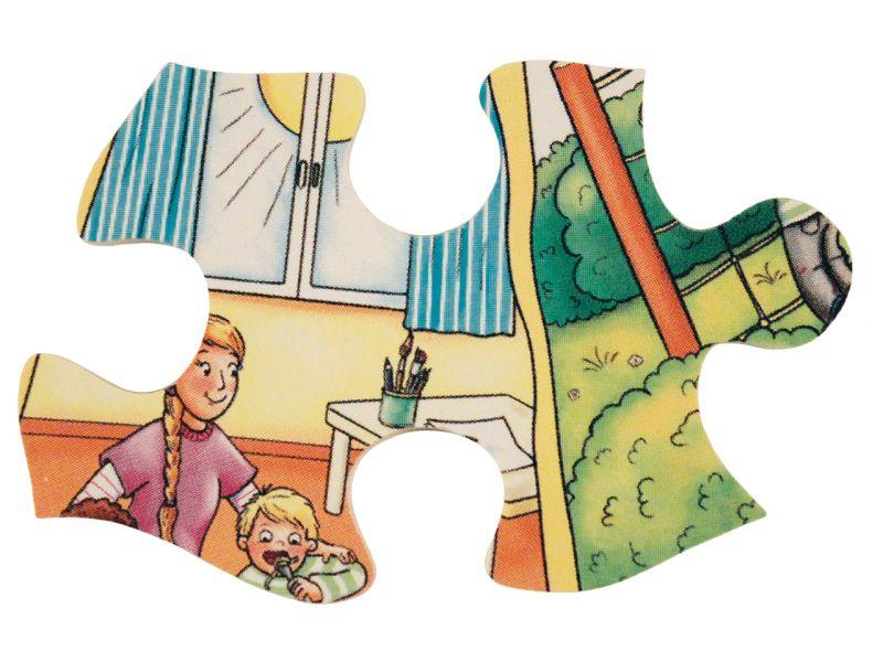 beleduc XXL Lernpuzzle »Mein Tag«