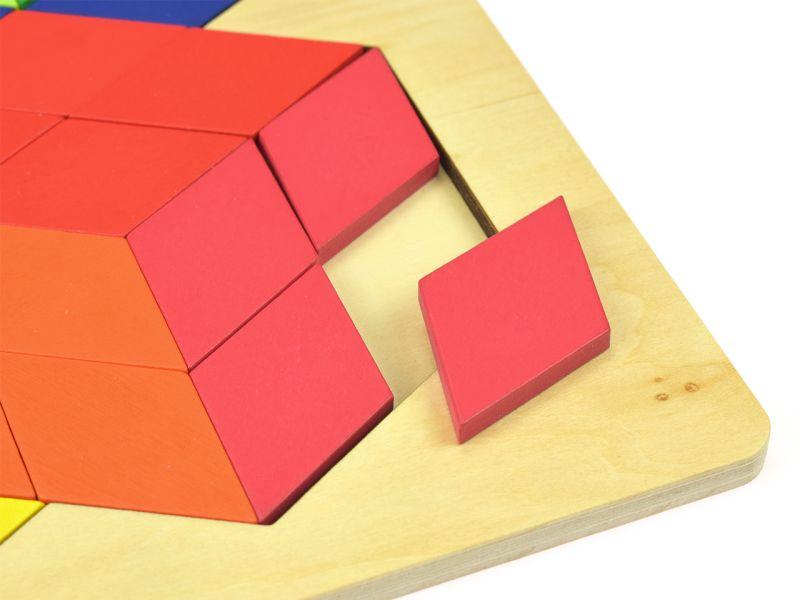 goki Puzzle 3-D Optik, 86-tlg.