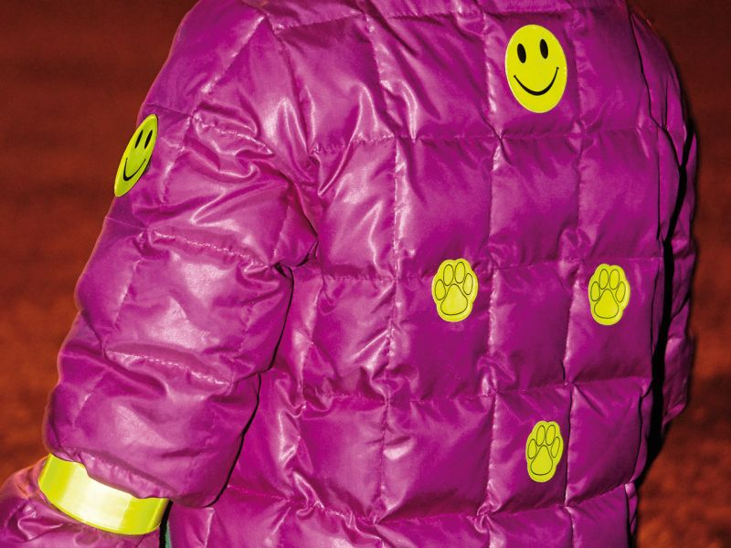 Reflektorensticker »Smiley«, 6er-Set