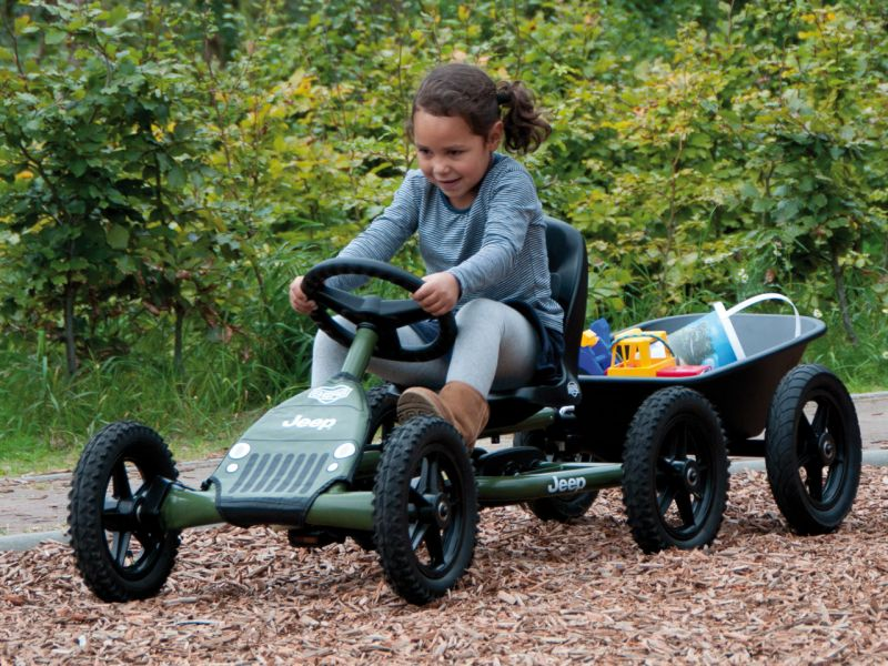 BERG Jeep Junior Pedal-Gokart