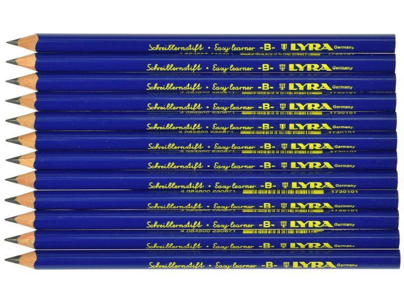 LYRA Schreiblernstift B, 12er-Set