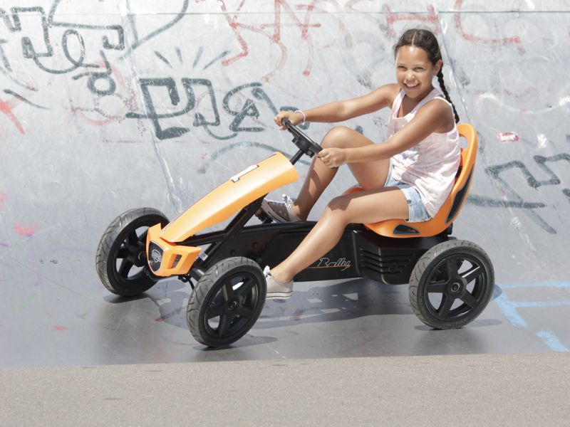BERG Rally Orange Pedal-Gokart