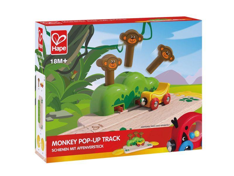 Hape Schienen mit Affenversteck
