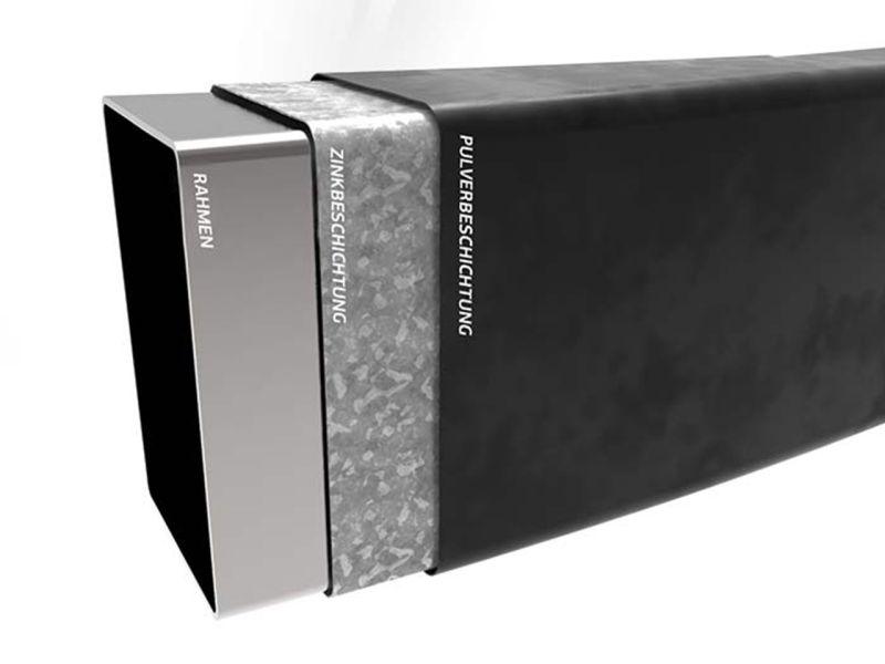 BERG Trampolin Ultim Champion FlatGround 410 Grey  inkl. Sicherheitsnetz Deluxe XL