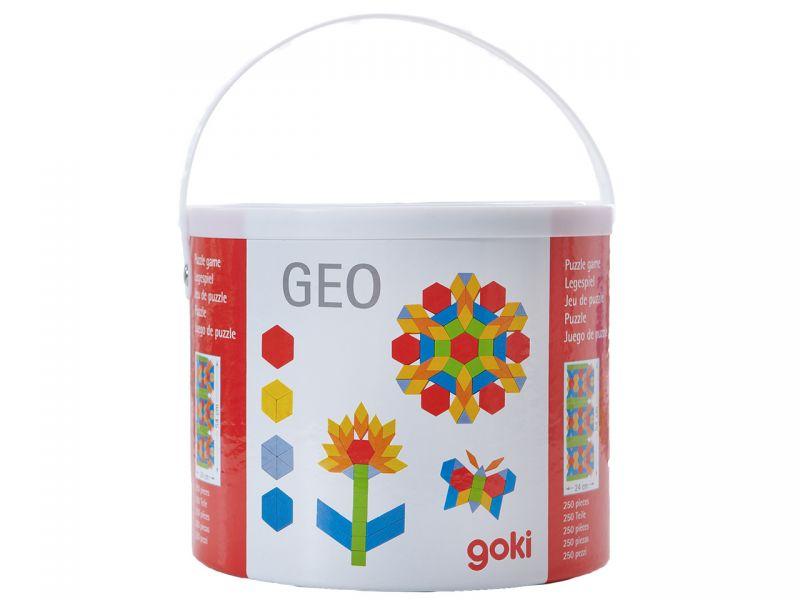 goki Legespiel »GEO«, 250-tlg.