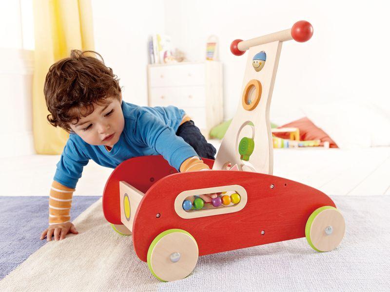 Hape Lauflernwagen mit Motorikelementen
