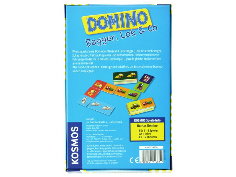 Kosmos Domino »Bagger, Lok & Co«
