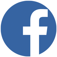 Button Social Media Facebook Logo