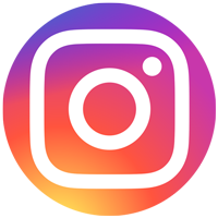 Button Social Media Instagram Logo