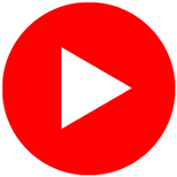 Button Social Media YouTube Logo