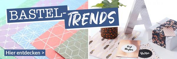Trends und Neuheiten im Bastelbereich