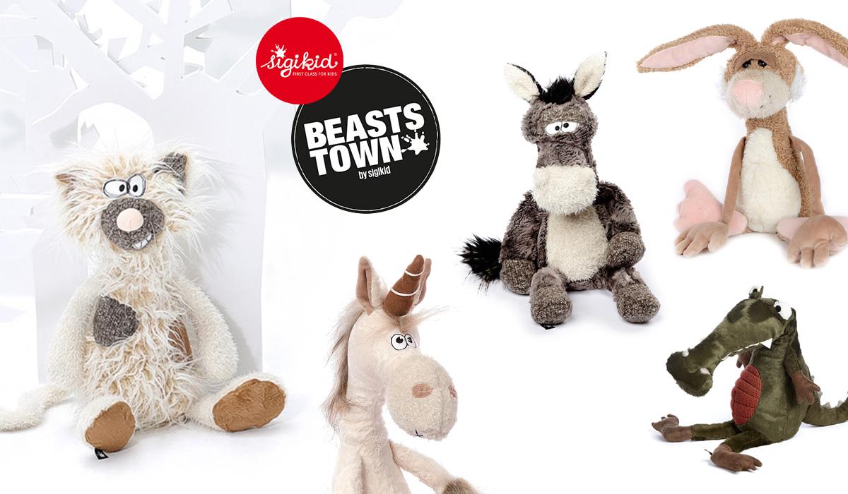 Neu bei Spielheld: Sigikid Beasts: Esel, Hase, Katze und Co.