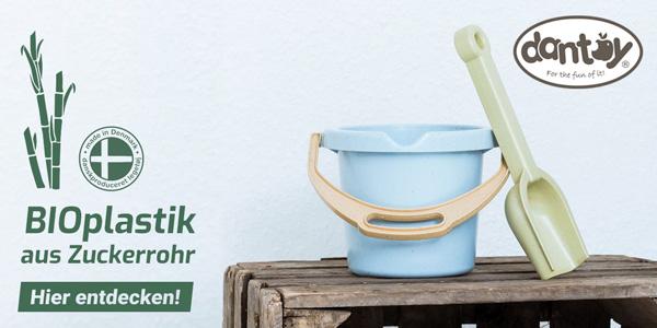 dantoy Bioplastik-Sandspielsachen