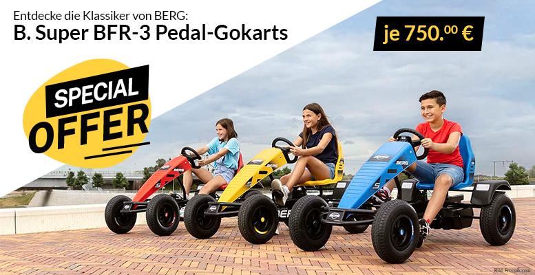Idee BERG B. Super Pedal-Gokarts