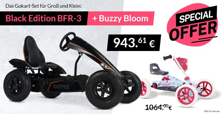 Angebot BERG Black Edition + Buzzy Bloom